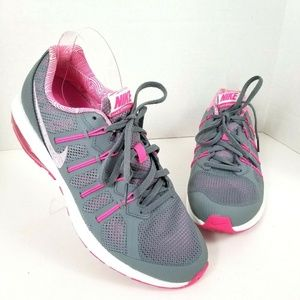 women's nike max dynasty hot pink athletic shoes